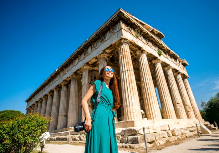 Hephaistos Temple – Athens Agora, Travel Mainland Greece holidays, luxury travel agency
