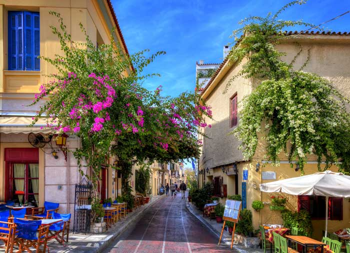 Plaka – Athens honeymoon tour with Travelive, luxury travel agency
