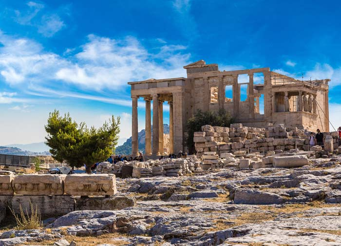 Erectheum temple – Acropolis, tour Athens honeymoon packages with Travelive, luxury travel