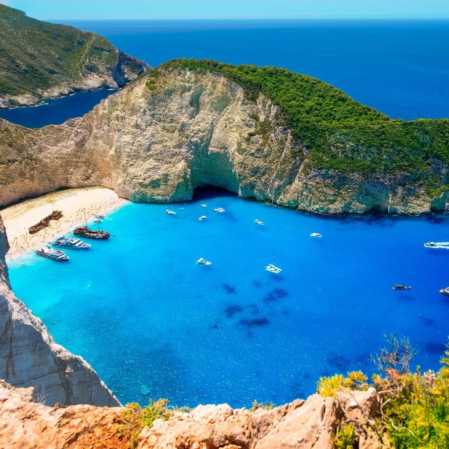Zakynthos island – beautiful beaches, Ionian islands, Greece holiday destinations, relax with Travelive
