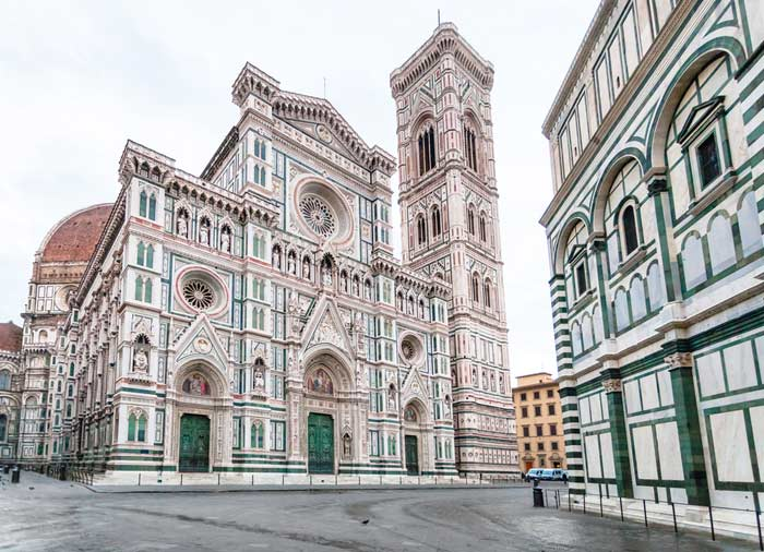 Duomo Cathedral Baptistery - Florence Honeymoon tours with Travelive, luxury travel agency