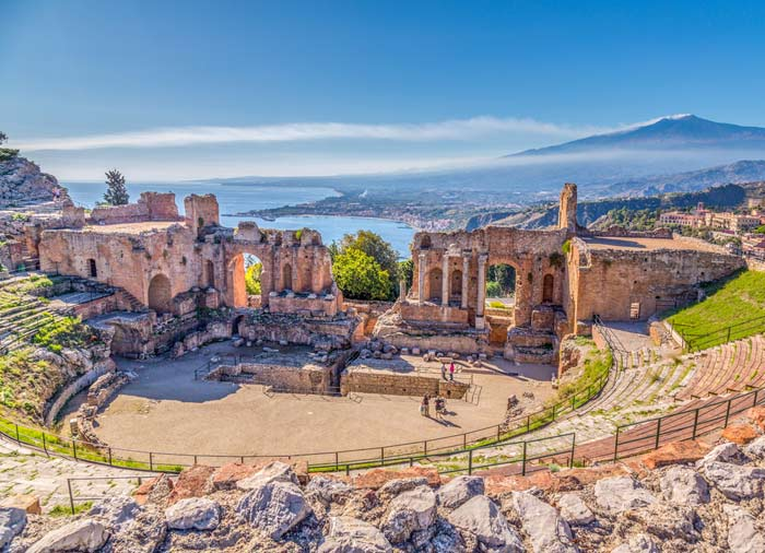 Greek Theater – Taormina, Sicily honeymoon tours with Travelive, Romantic luxury travel