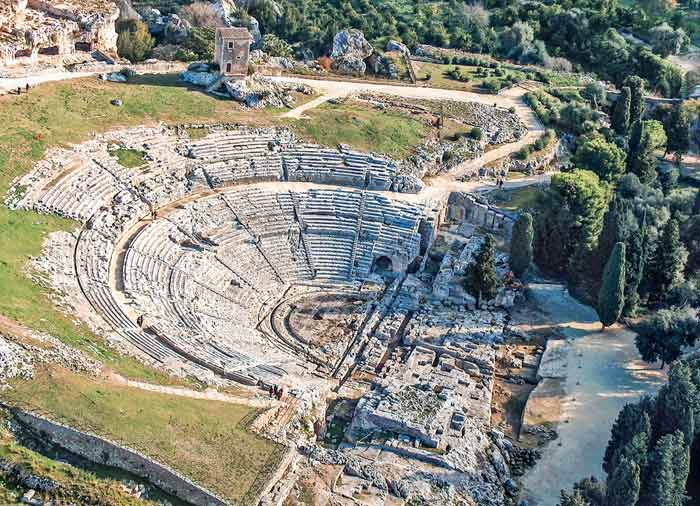 Greek Theatre – Syracuse, Sicily honeymoon packages, tours with Travelive, romantic luxury