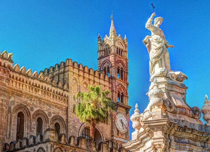 Palermo Cathedral – Sicily honeymoon package with Travelive, luxury travel agency