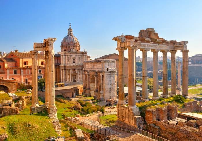 Roman Forum – Rome honeymoon tours with Travelive 96bb132e273