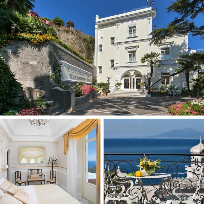 Luxury Villa Excelsior Parco - Amalfi Coast Hotels, Travelive