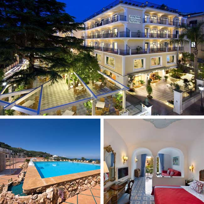 Grand Hotel La Favorita - Amalfi Coast Hotels, Travelive