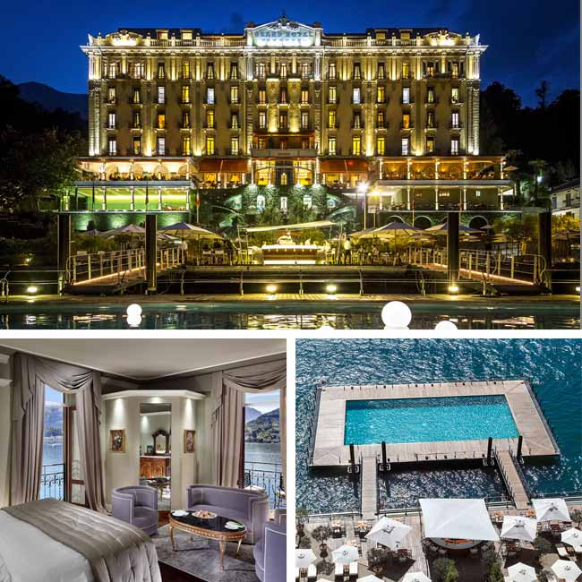 Grand Hotel Tremezzo - Luxury Hotels Lake Como, Travelive