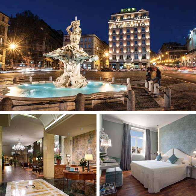 Hotel Bernini Bristol - Luxury Hotels Rome, Travelive