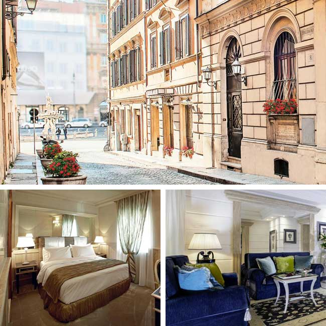 Hotel Barocco- Luxury Hotels Rome, Travelive