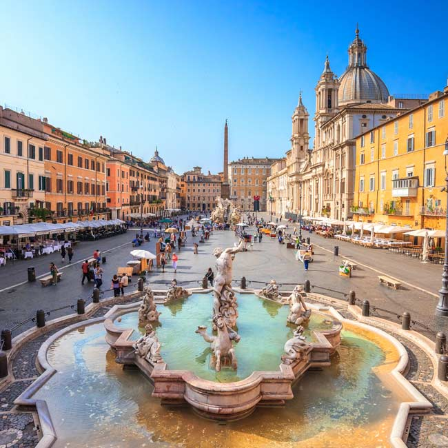 Piazza Navona – Rome, Top destinations in Italy, Travelive luxury packages