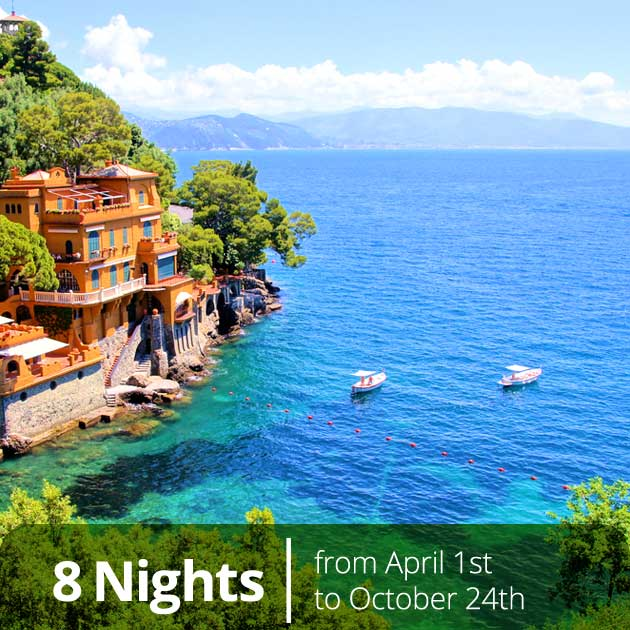Beach in Portofino - Honeymoon Packages on the Italian Riviera, Travelive