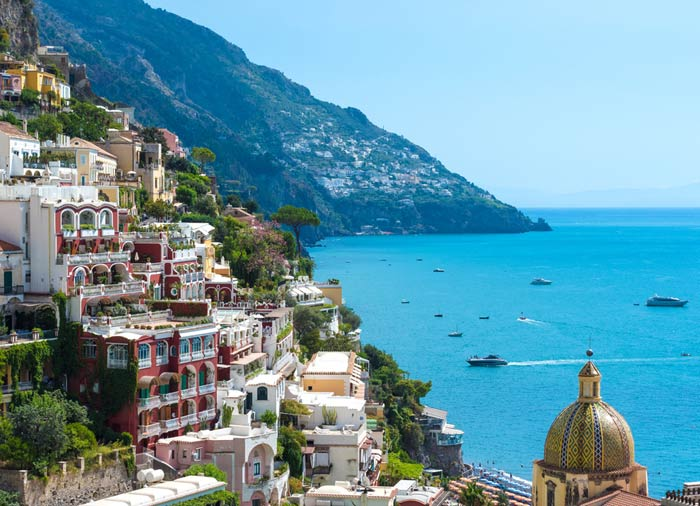 Positano – Amalfi coast Itinerary package by Travelive