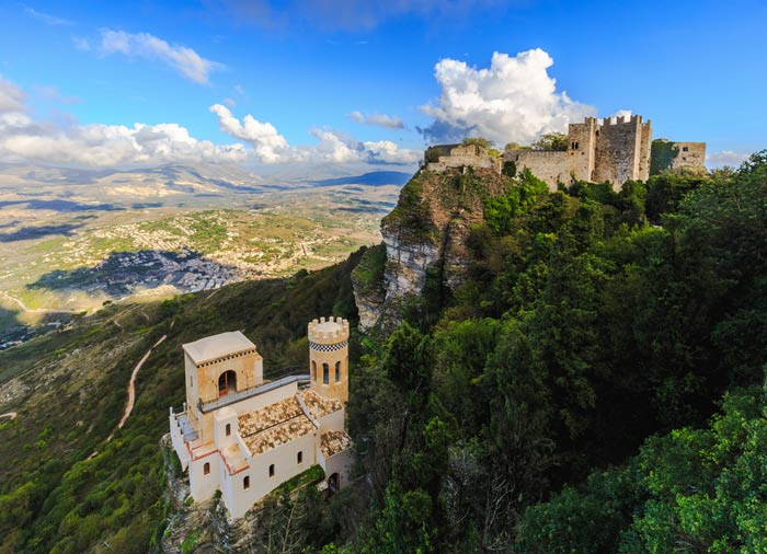 Erice Fortress – Tours of Sicily, Sicily experience package with Travelive