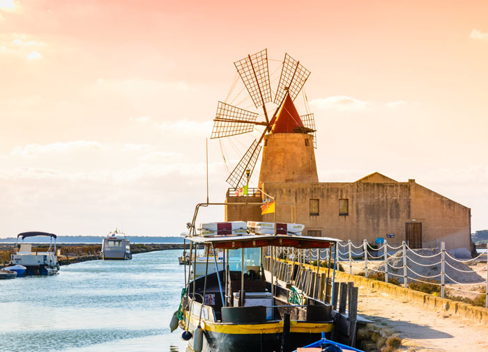 Trapani Wind Mill - Tours of Sicily, Sicily experience package with Travelive