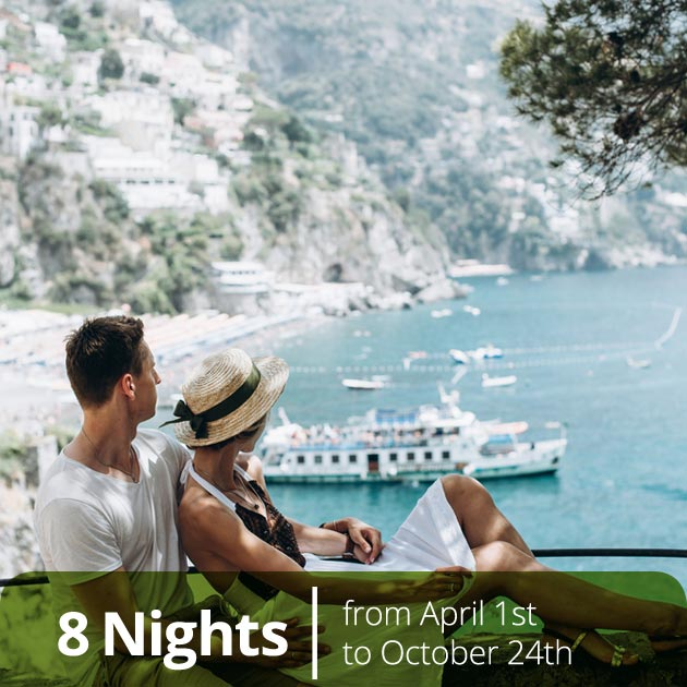 Romantic Couple in Positano - Amalfi Coast Honeymoon Getaways, Travelive