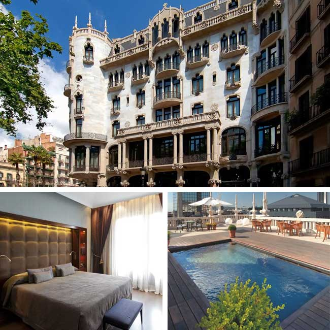 Luxury hotels in barcelona spain travelive - Restaurant casa fuster ...