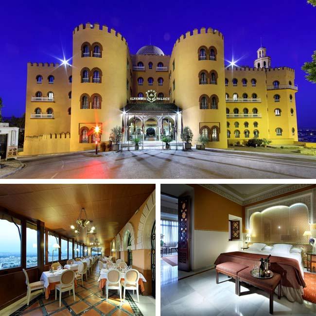Hotel Alhambra Palace - Luxury Hotels Granada, Travelive