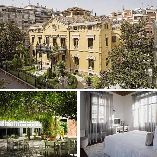 Hotel Hospes Palacio De Los Patos - Luxury Hotels Granada, Travelive