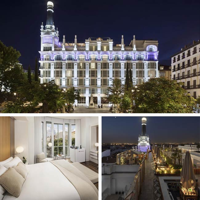 ME Madrid Reina Victoria - Luxury Hotels Madrid, Travelive