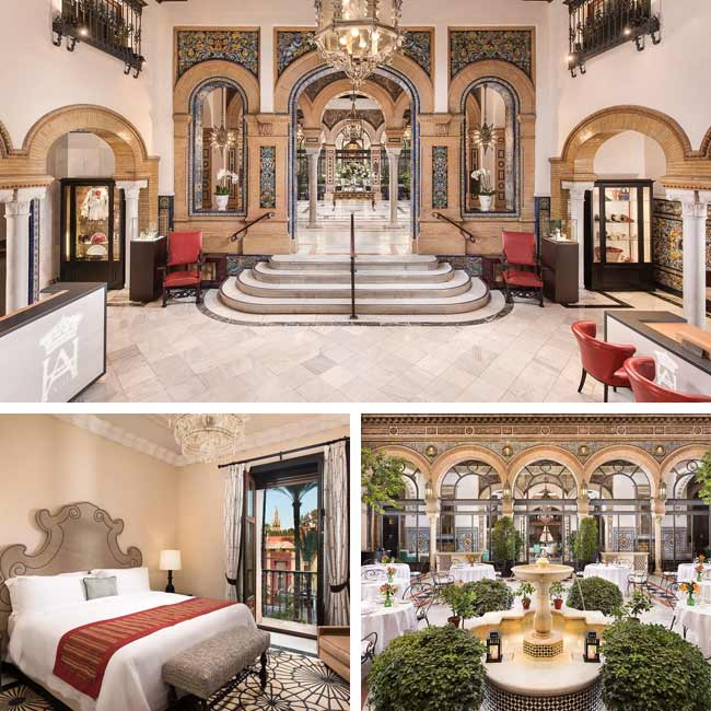 Hotel Alfonso XIII - Luxury Hotels Seville, Travelive