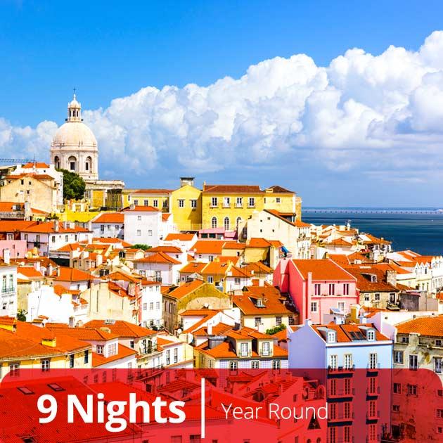Skyline – Lisbon, Discover Spain and Portugal, Vacation Specials with Travelive