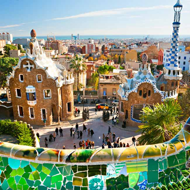 Park Guell – Barcelona, top destinations in Spain, Travelive luxury packages