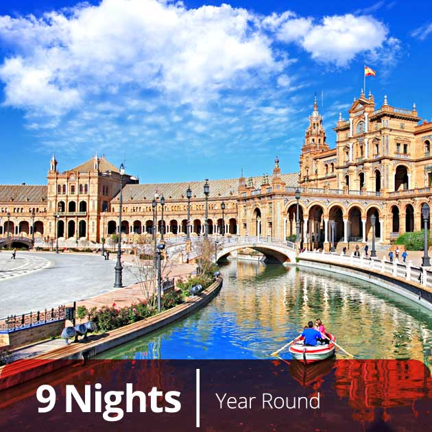 Plaza de Espana - Luxury Honeymoon in Seville with Travelive