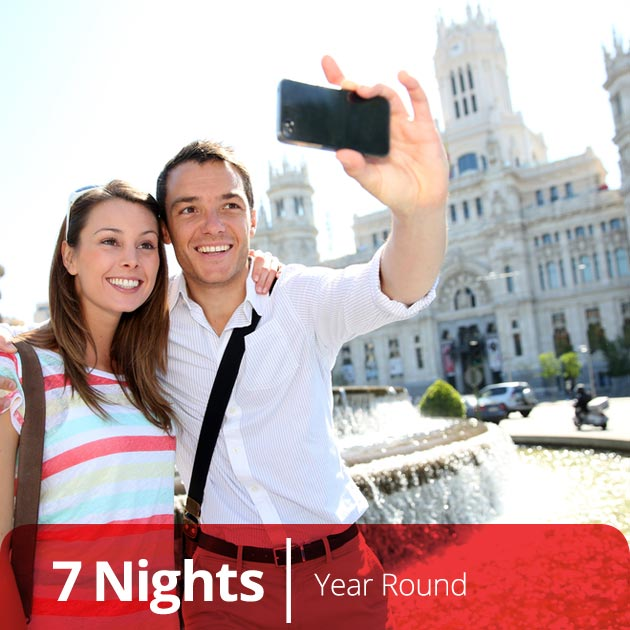 Couple in Madrid - Luxury Honeymoon in Spain, Travelive