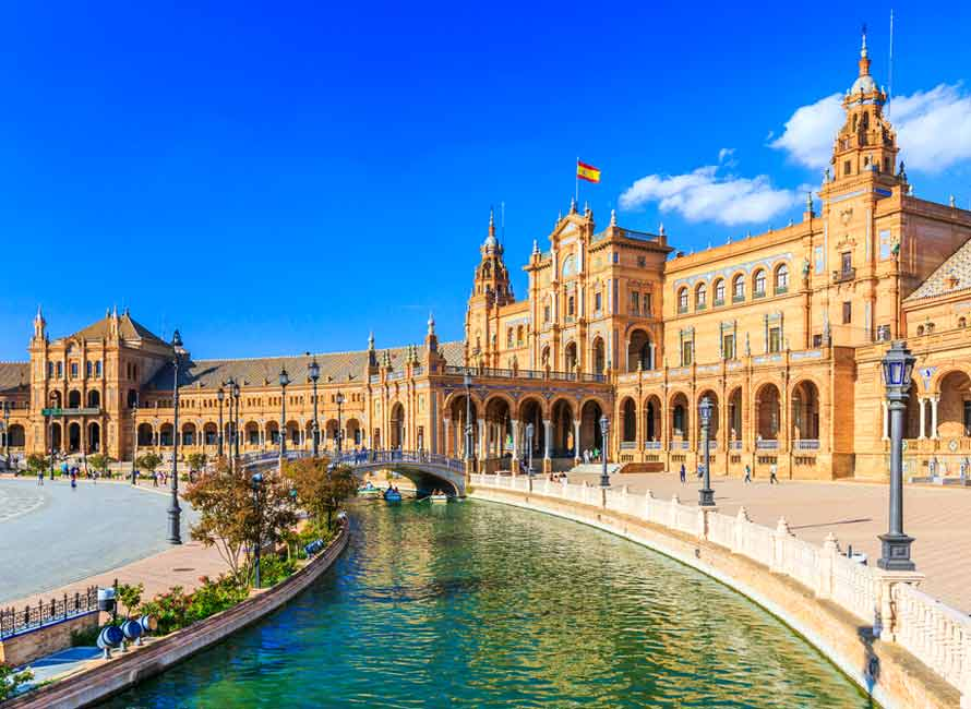 Seville – Spanish Square, Top Luxury Travel Spain Destination