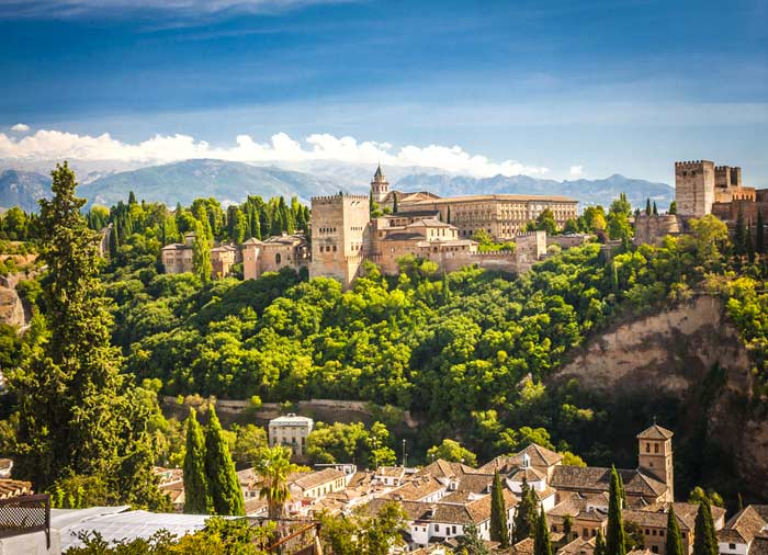 Ancient Arabic Fortress – Alhambra Granada, Granada Spain honeymoons, Travelive