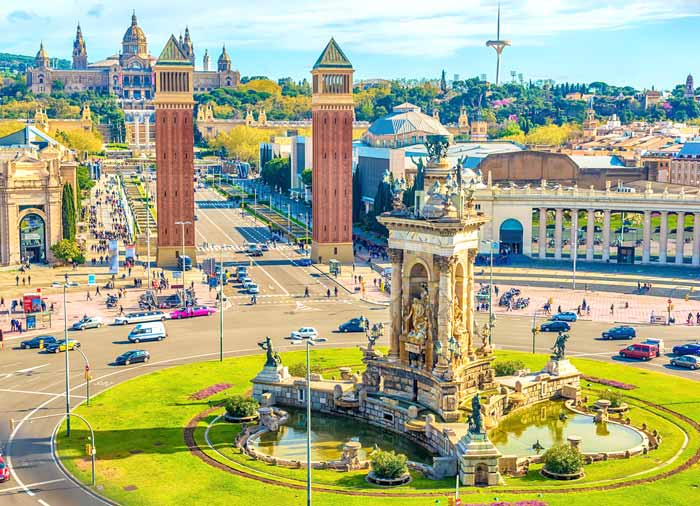 Plaza de Espana – Barcelona honeymoon tours with Travelive, luxury travel agency