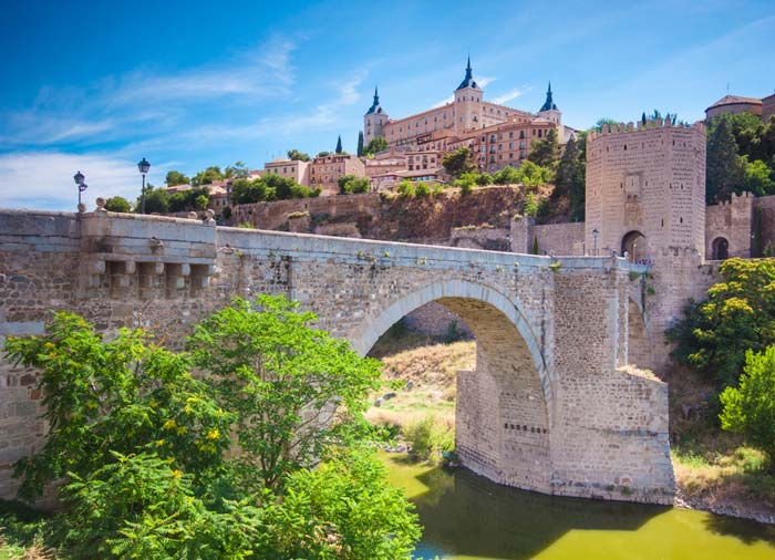 San Martin Bridge – Toledo, Spain and Portugal honeymoon with Travelive, luxury packages