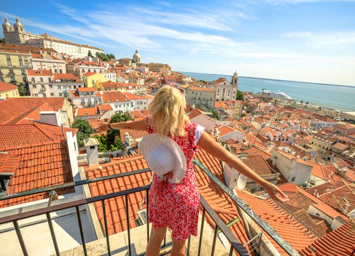 View of Lisbon – Portugal, Spain and Portugal honeymoon packages, Travelive, luxury travel