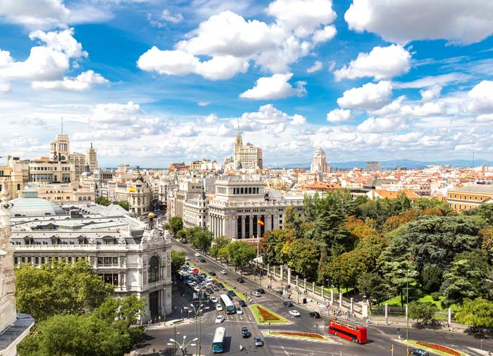 Plaza de Cibeles – Madrid honeymoon excursions with Travelive, Spanish Classics package