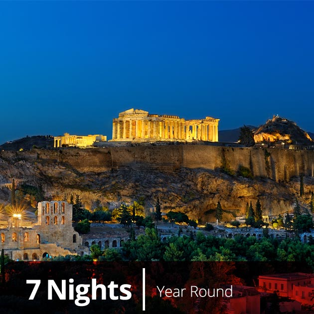 Acropolis, Athens –  Classical Greece and Turkey with Travelive, Luxury Vacation Packages
