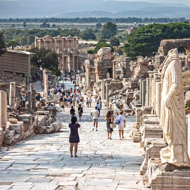 Ephesus – Archeological Site, Central Turkey holiday destinations by Travelive