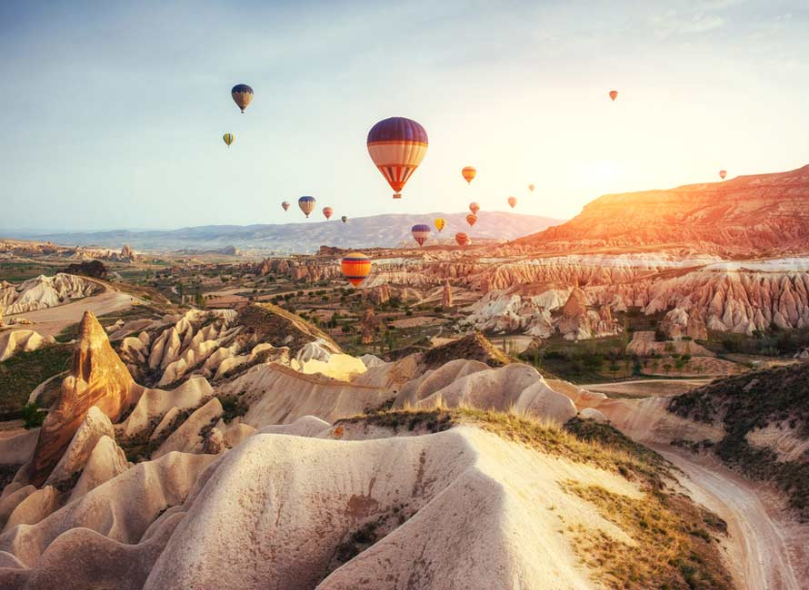 Hot Air Balloon - Cappadocia Tours with Travelive, Luxury Travel to Turkey Destinations