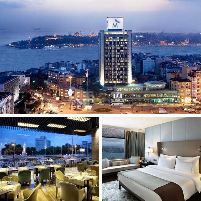 The Marmara Taksim - Luxury Hotels Istanbul, Travelive