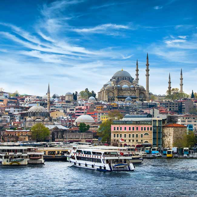 Istanbul landscape – Turkey destinations, Travelive luxury vacation packages