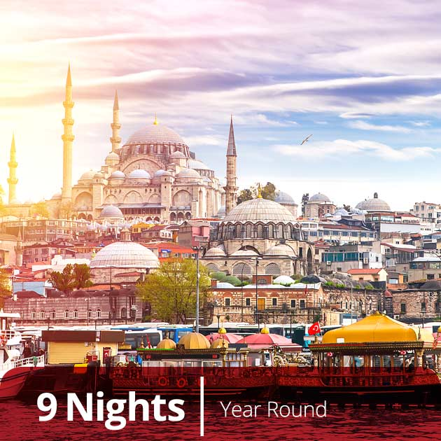 Istanbul – Turkish Classics Luxury Vacation Packages with Travelive