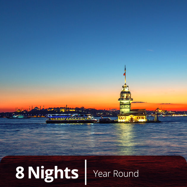 Maiden's Tower in Istanbul - Ottoman Classics Luxury Honeymoon in Turkey