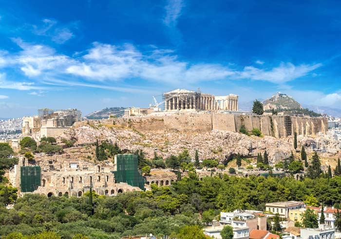 Acropolis – Athens Greece, Ottoman Classics package by Travelive, Istanbul to Ephesus