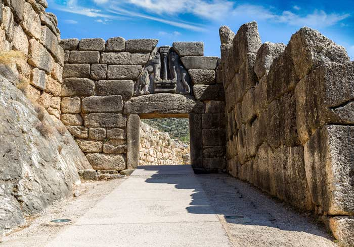 Lion Gate in Mycenae Greece – Ottoman Classics Tour with Travelive, Luxury Travel Agency