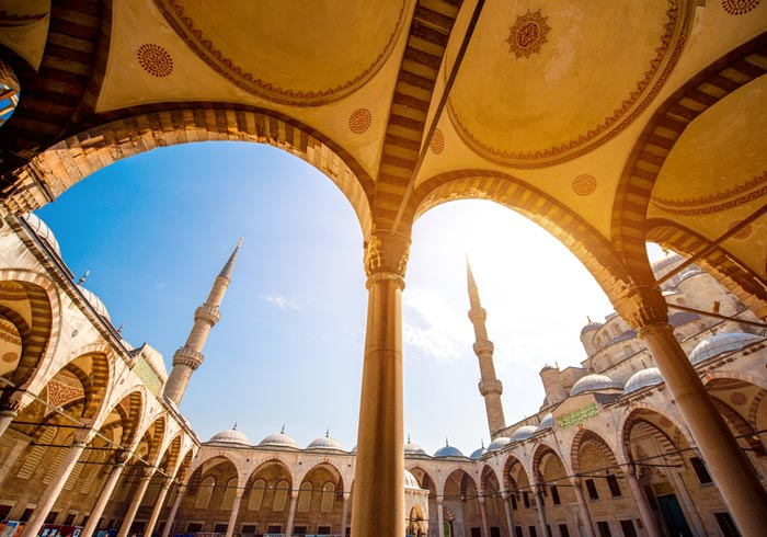 Blue Mosque – luxury travel Istanbul, Istanbul to Cappadocia tours by Travelive