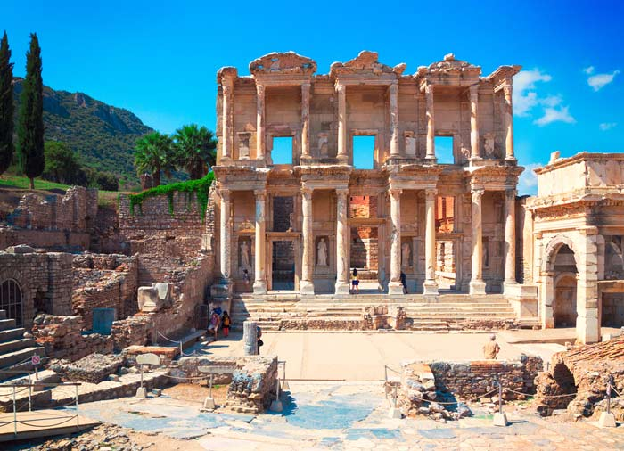 Celsius Library – Ephesus Tours from Kusadasi with Travelive, Luxury Travel Agency