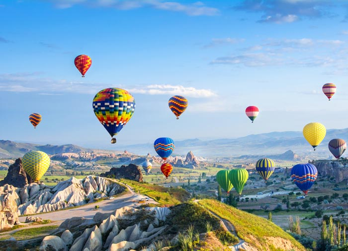 Hot Air Balloons – Cappadocia Tours from Istanbul with Travelive, Luxury Travel Agency